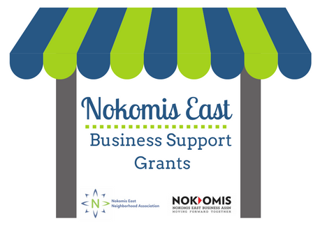 Nokomis East Business Support Grants logo